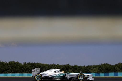 Льюис Хэмилтон выиграл квалификацию Гран-при Венгрии