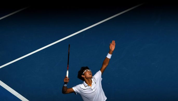 Кореец Чон Хён вышел вполуфинал Australian Open