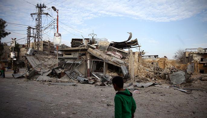 ВДамаске после обстрела города боевиками пострадали 14 человек