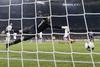 После удара Златана Ибрагимовича мяч влетает в ворота Уго Льориса