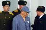 Американца, осужденного в Северной Корее за попытку свержения строя, вернули в трудовой лагерь