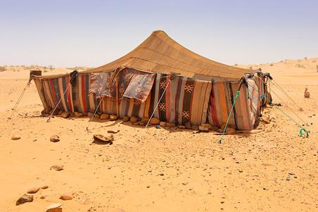 Шатер, Сахара