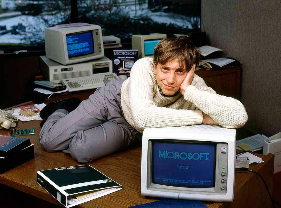 Компания Гейтса была обречена на глобальный успех