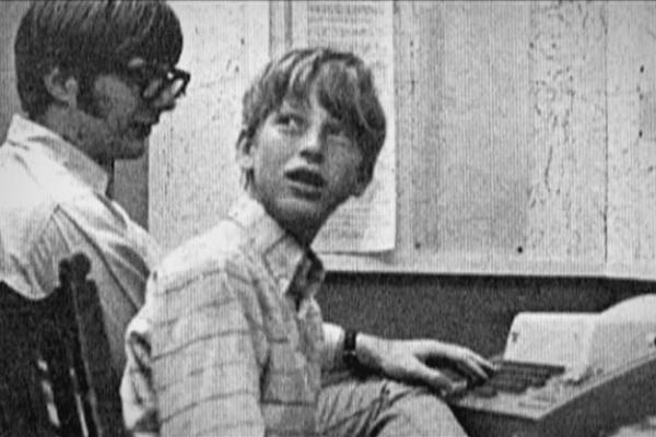 Любовь к компьютерам проявилась у Билла еще с малых лет