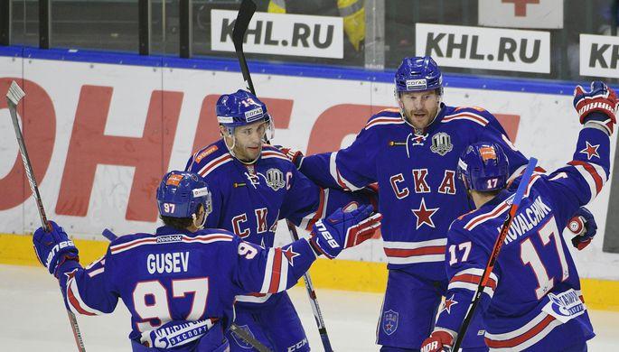 СКА прервал 15-матчевую победную серию «Йокерита» вКХЛ