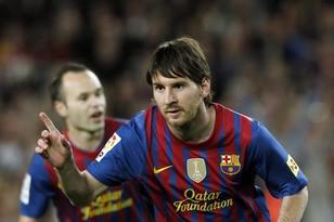 Лионель Месси забил 50-й гол в чемпионате Испании-2011/12