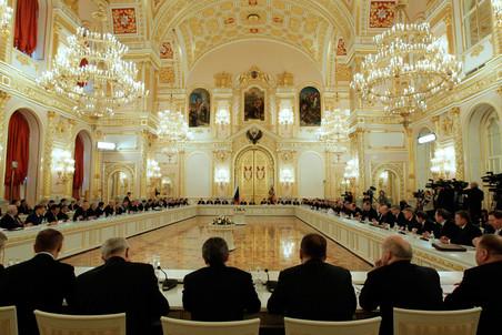Государственный совет РФ в Кремле