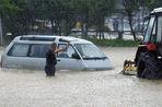Пришедший из Китая циклон превратил дороги Владивостока в озера