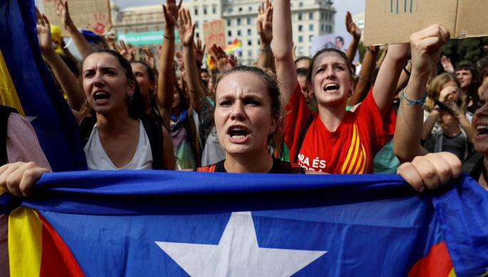 Мэр Барселоны выступила против независимости Каталонии