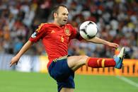 Андрес Иньеста признан лучшим футболистов чемпионата Европы