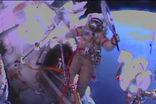 Олимпийский факел побывал в открытом космосе