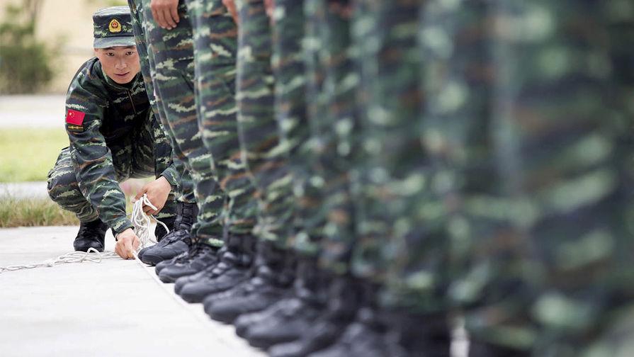 Китайская армия направит в Россию 1,6 тыс. военных