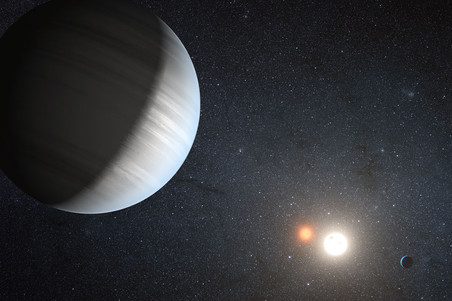 На планетах рядом с двойными звездами условия для жизни лучше