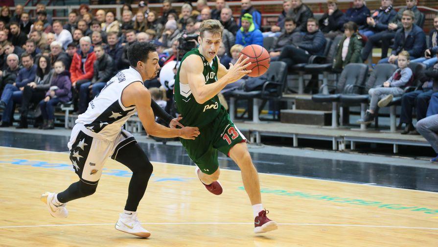 Баскетболисты «Локомотива-Кубани» разгромили «Автодор» вматче Единой лиги ВТБ