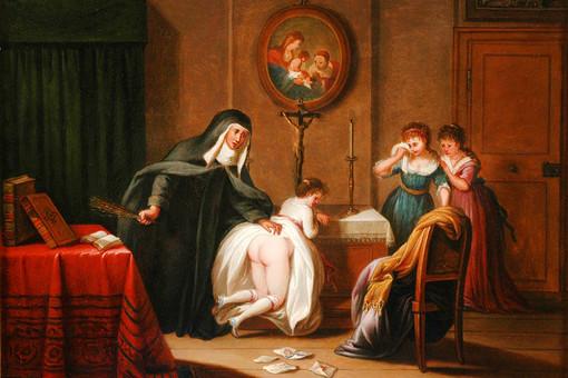 Адам Браун, «Порка девушек в школе-пансионе», 1789 год
