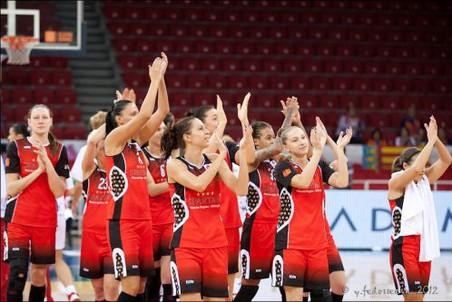 баскетболистки Спарты энд К УГМК провели первые матчи в Финале восьми Евролиги