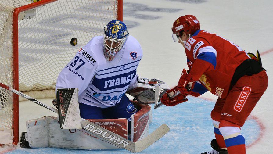 Сегодня сборная РФ начнет чемпионат мира похоккею матчем сФранцией