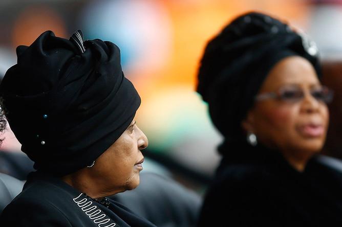 Скончалась бывшая супруга Нельсона Манделы