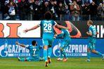 «Зенит» разгромил «Краснодар» в матче 25-го тура чемпионата России по футболу