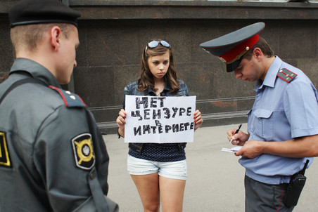 Russia passes controversial Internet bill despite censorship concerns — Gazeta.Ru