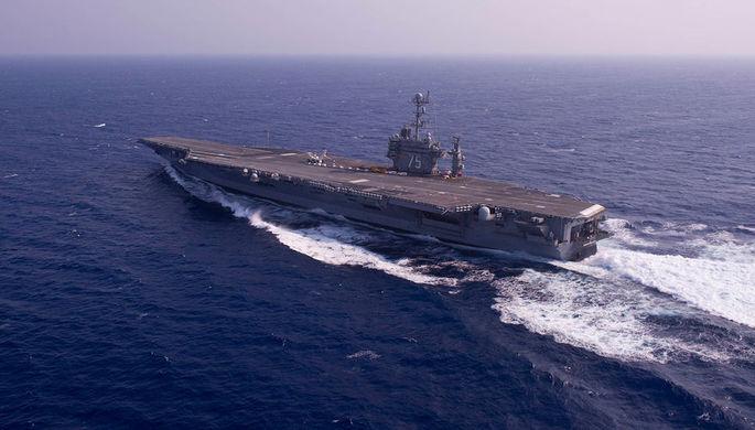 Генштаб прокомментировал выдвижение ударной группы США вПерсидский залив