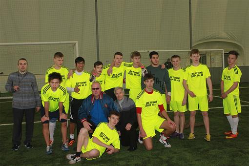Команда детдома №48,которая победила в Кубке-2013