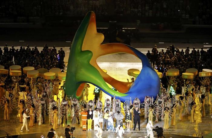 Закрытие Олимпиады Лондон 2012