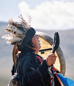Магнитное поле камлания шаманов
