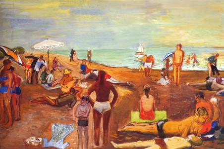 В петербургском Новом музее показывают картины и листы художников послевоенного ленинградского андерграунда