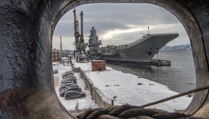Договор наремонт «Адмирала Кузнецова» могут подписать всередине весны
