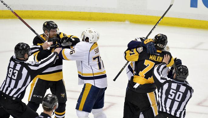 НХЛ: «Колорадо» последним оформил путевку вплей-офф