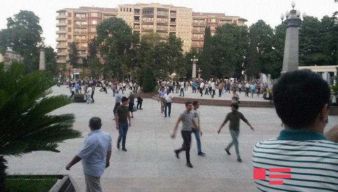 Беспорядки вАзербайджане. Убиты двое полицейских, десятки людей задержаны