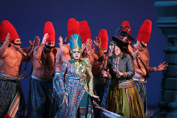 «Итальянка в Алжире» Московского академического Музыкального театра