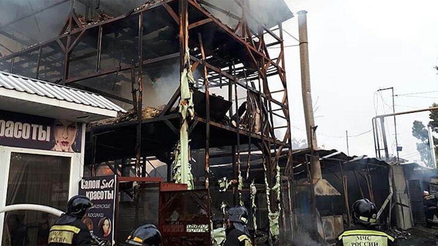 Погибло восемь человек— Пожар вСочи