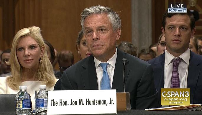 Хантсман: Политика столицы - один из основных внешнеполитических вызовов для Соединенных Штатов