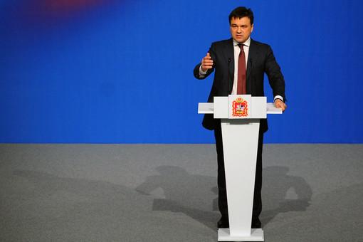 Кандидат в губернаторы Московской области Андрей Воробьев