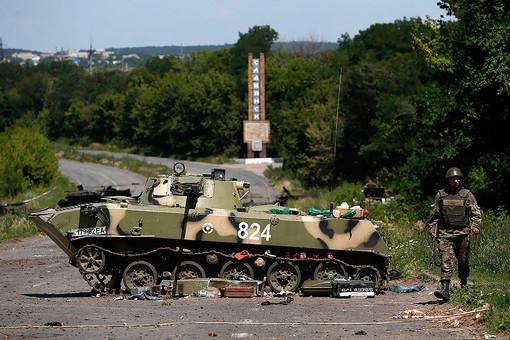 Украинская армия отбила Славянск