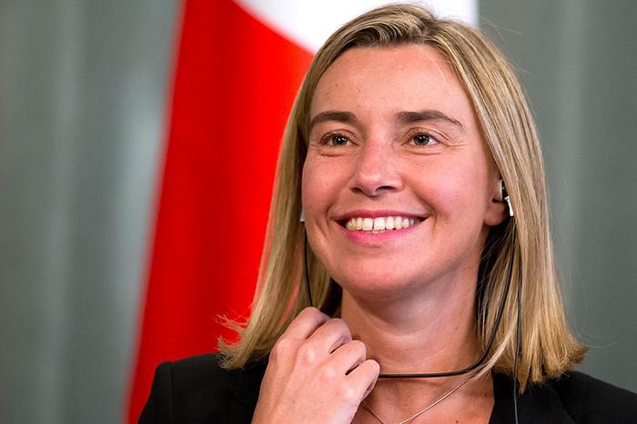 Министр иностранных дел Италиии Федерика Могирини