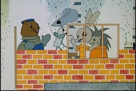 Кадр из мультфильма «Песенка мышонка», 1967 год