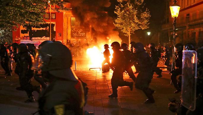 ВФРГ осудили жителя России заучастие вбеспорядках вовремя саммита G20