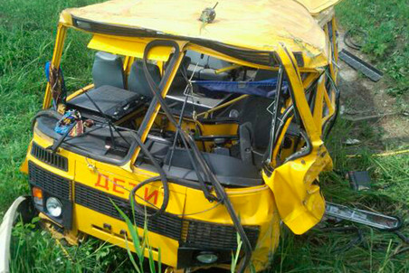 4 killed in school bus collision in Stavropol Krai — Gazeta.Ru
