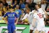 Сборная Англии вышла в четвертьфинал с первого места группы D