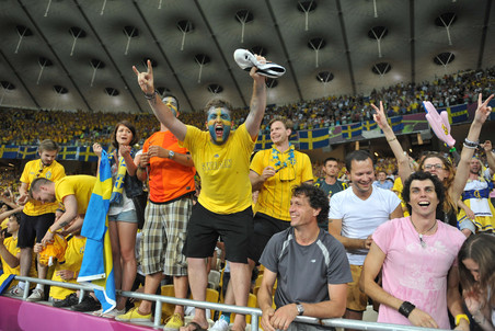 Шведские болельщики оставили самое приятное впечатление