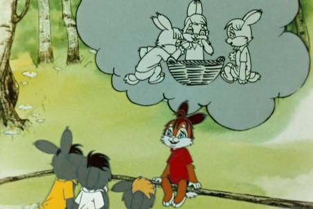 Кадр из мультфильма «Пустомеля», 1980 год