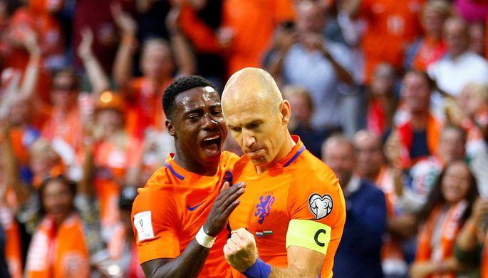 Сборная Нидерландов пофутболу разгромила команду Португалии втоварищеской игре