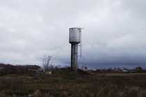Water tower stolen and sold piecemeal in Bobruisk, Belarus 