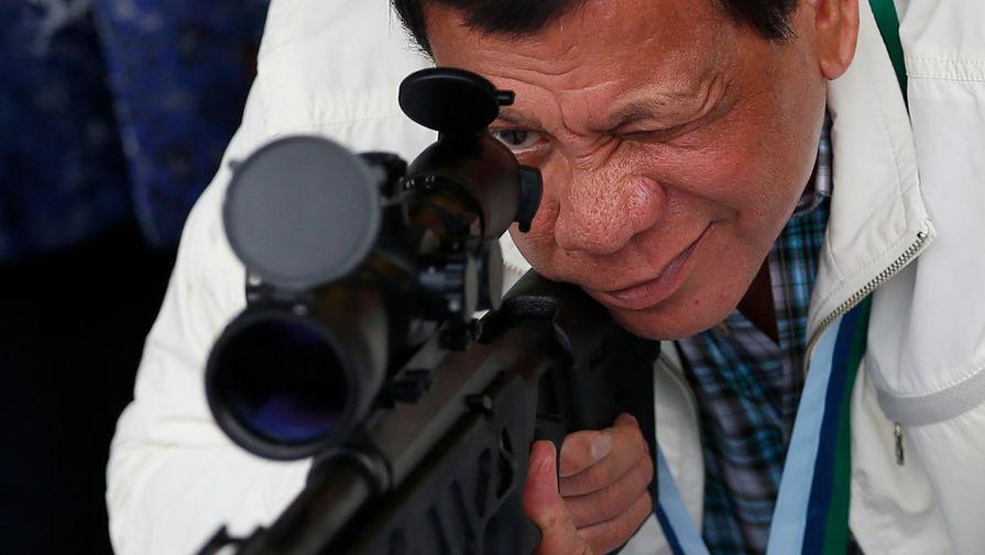 Президент Филиппин отдал приказ  расстреливать нарушителей карантина