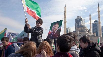 Как в Грозном готовятся к митингу в поддержку Рамзана Кадырова