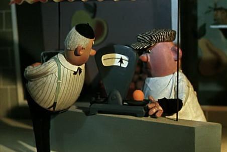 Кадр из мультфильма «Крокодил Гена», 1969 год