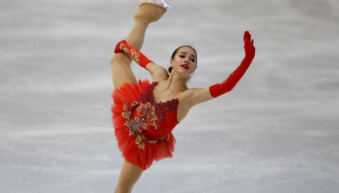 Фигуристка изУдмуртии Алина Загитова одолела вфинале мирового Гран-при